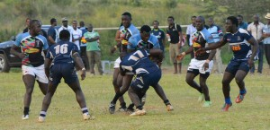 Previous action between Strathmore and Quins/Photo/James Wahome