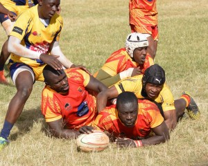Previous action between the Strathmore Leos and the Menengai Cream Homeboyz/Photo/Brian Ayieko