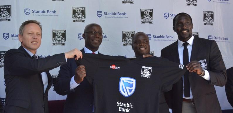 Mwamba Secures Stanbic Shirt Sponsorship