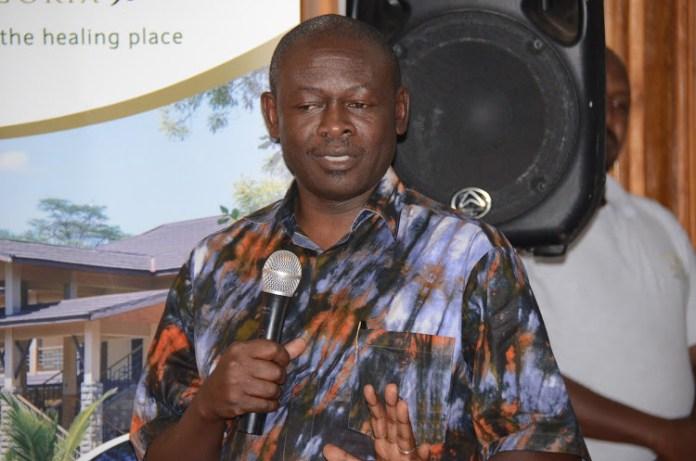 Trans Nzoia county commissioner Sam Ojwang