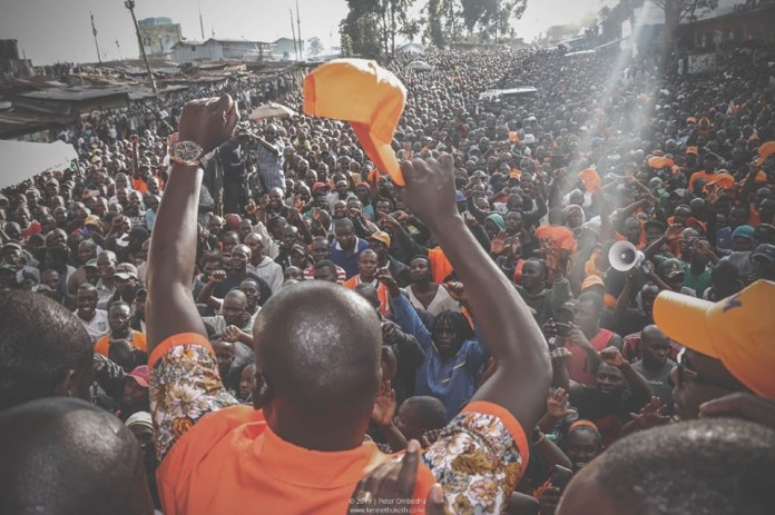 Kibra listens to 'baba' , will elect ODM's Imran Okoth