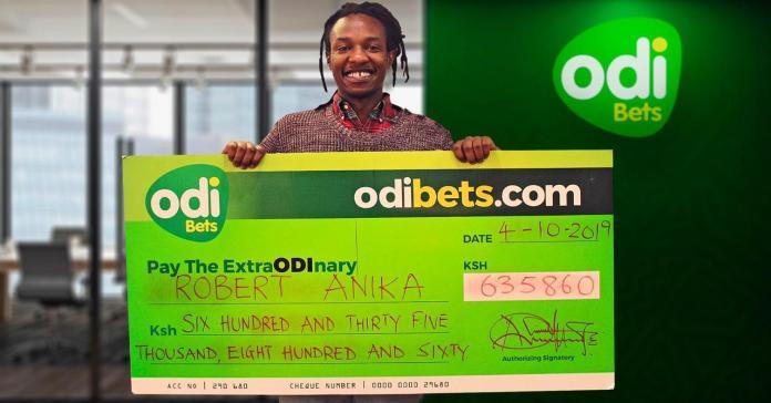 Lucky Voi man wins big on OdiBets