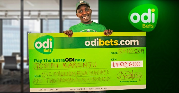 Lucky man avoids the Manchester united curse to win 1.4 million.