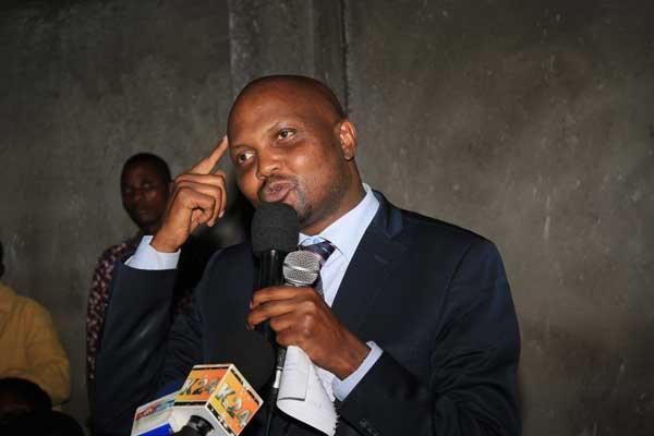 Gatundu South MP Moses Kuria