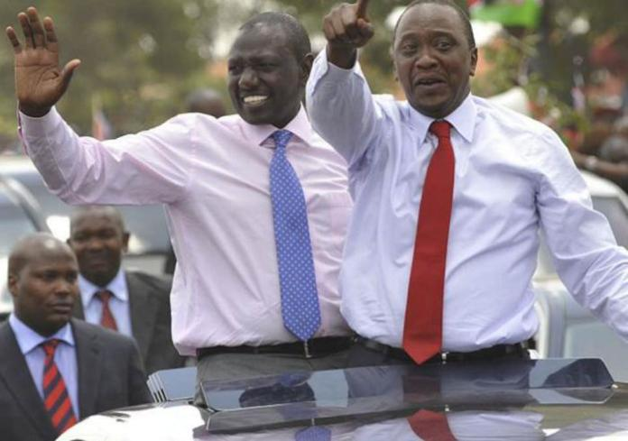 President Uhuru Kenyatta with DP William Ruto. Lifestyle Audit Bill 2019 will make publicise the wealth of all public officers