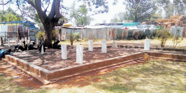 A section of Kariokor Cemetery, Nairobi.