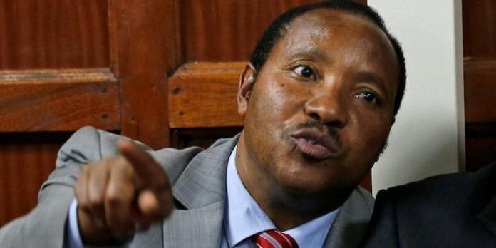Governor Ferdinand Waititu during a court session. On Thursday, December 19, he was impeached by his MCAs.