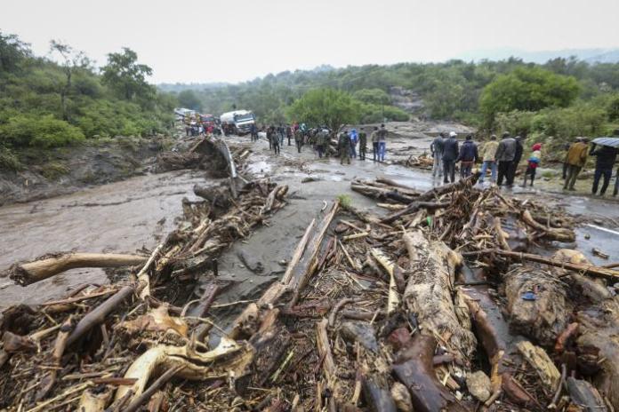 West Pokot County after flash floods rocked it in November 23, 2019