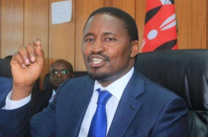 Outgoing Agriculture CS Mwangi Kiunjuri (pictured) who was replaced by Peter Munya.