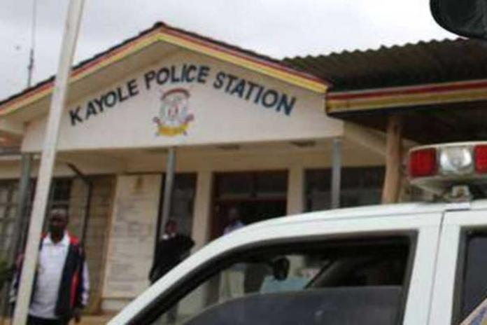Kayole Police Station where kin to the deceased child recorded statements on Monday, January 13, 2020.