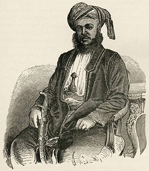 Sayyid Barghash Bin Said Al-Busaid, Second Sultan Of Zanzibar East Africa.