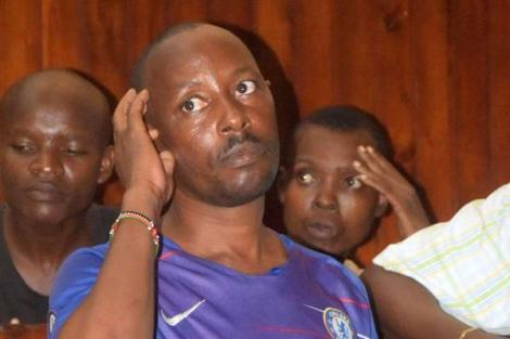 Benedict Karisa in a Mombasa court on February 12, 2020
