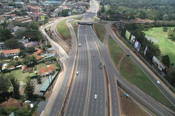 A section of Nairobi-Thika highway.