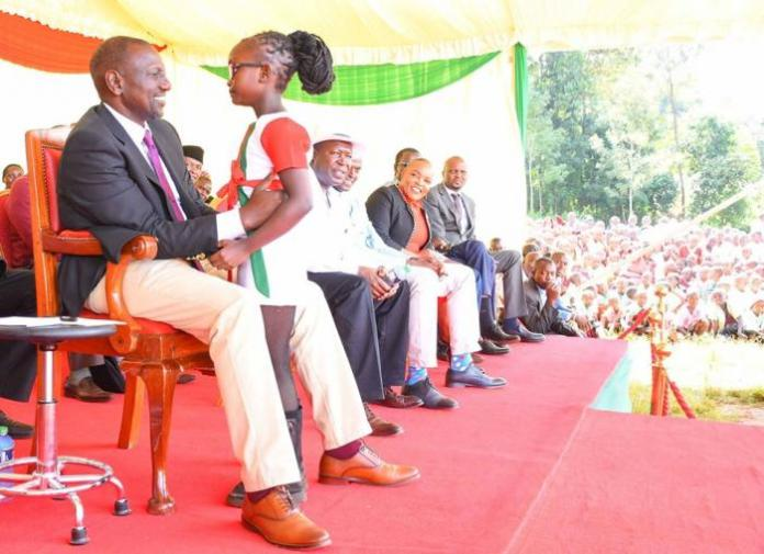 Deputy President William Ruto in Kandara constituency on Friday, March 6, 2020