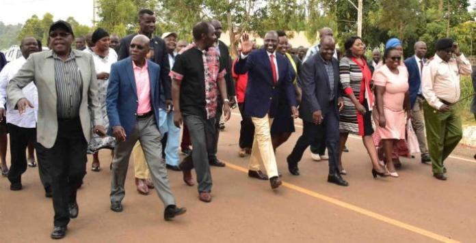 Deputy President William Ruto pictured in Khwisero Constituency, Kakamega County on March 1, 2020.