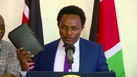 Zachary Kinuthia appointed by President Uhuru Kenyatta as Chief Administrative Secretary (CAS) in the Ministry of Education on January 14, 2020.