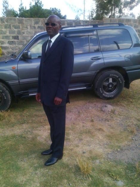 Turkana West MP Honourable Daniel Epuyo Nanok