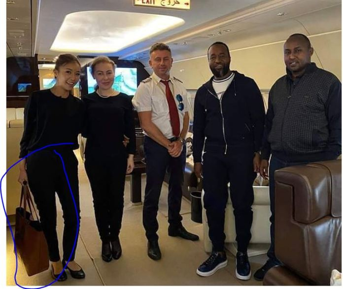Breaking: The owner of the mysterious bag in Governor Joho private jet  is an Asian hotie !