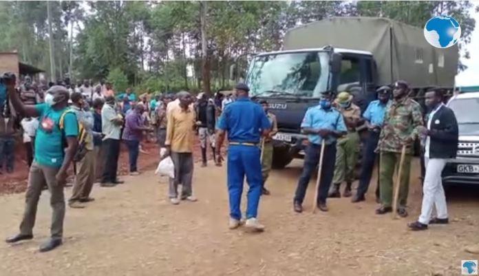 DRAMA: Police block Musalia and Wetangula from attending a Luyha unity meeting in Vihiga county