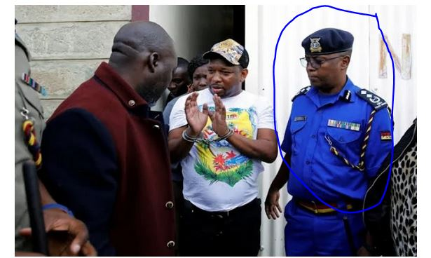 'FINISHING' SONKO: Police boss who manhandled Sonko in Voi will be the new Nairobi Police boss