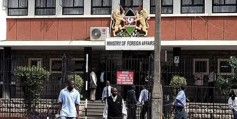 The Ministry of Foreign Affairs offices in Nairobi.