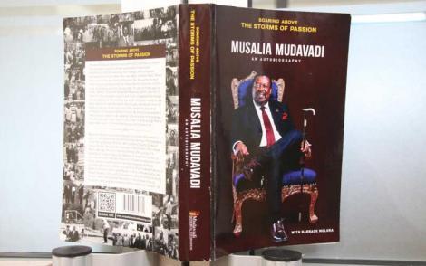 Musalia Mudavadi's biography Soaring Above The Storms of Passion