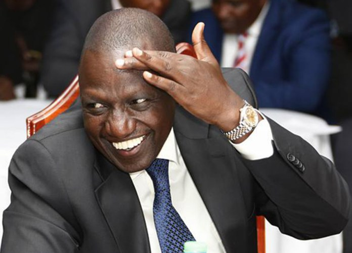 """At least for once i won't be blamed for stealing Covid-19 funds,"" DP Ruto claims"