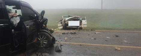 Scenes from an accident which occurred along Nairobi-Nakuru Highway on Friday morning, July 24, 2020