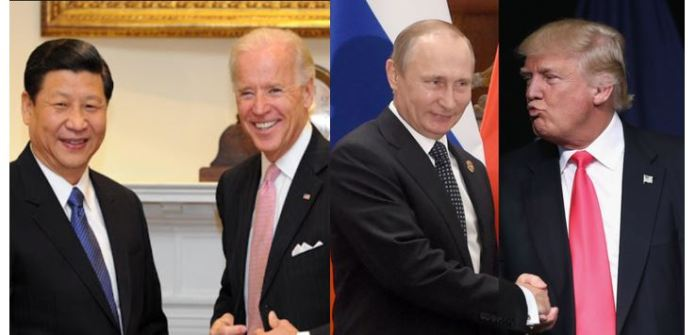 USA Intelligence: Russia working to ensure Trump re-election. China and Iran prefer Joe Biden to win November election