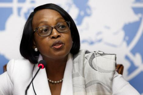 A file photo of WHO regional director for Africa Dr. Matshidiso Moeti