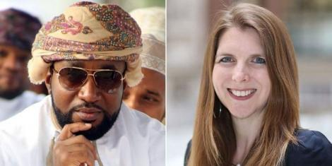 A collage of Governor Hassan Joho and UK High Commissioner to Kenya Jane Marriott