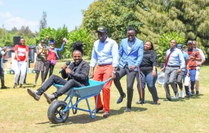 DP Ruto should try leaked sex videos and nudes, they unite us than Wheelbarrows
