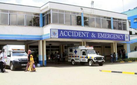 Stock image of the Kenyatta National Hospital.