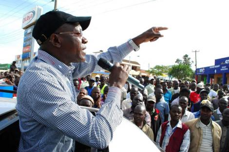 Former Kakamega Senator addresses a past roadside rally