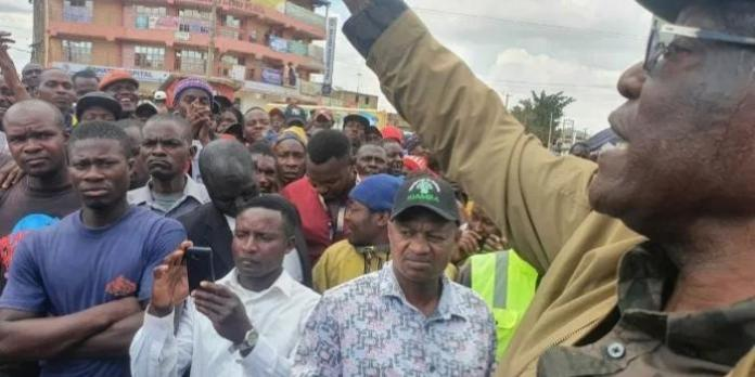 3 Protestors Assaulted at Muthama's Rally [VIDEO]