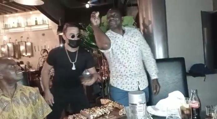 DP Ruto in Dubai, splashes a million shillings dinner at Salt Bae steak joint