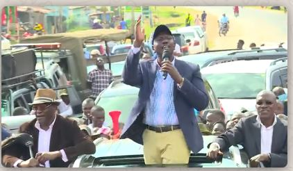 Dear Ruto, learn from Joe Biden, he won without big rallies, Covid-19 is real, be careful.