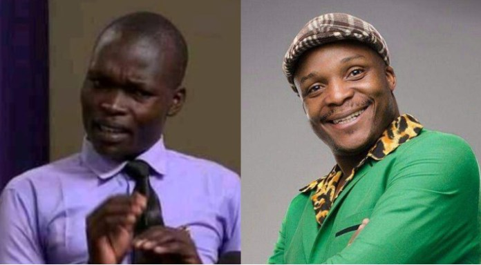 Leaked inbox SMS : Comedian Jalang'o in a bitter exchange with blogger Allan Ouma