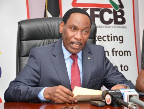 Kenya Film and Classification Board CEO, Ezekiel Mutua.