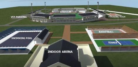 Proposed design of the Ulinzi Sports Complex