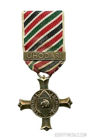A photo of the exclusive Uhodari Award
