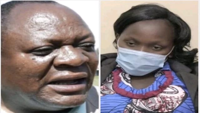 Breaking: DNA tests confirms Hon Murunga is the BIOLOGICAL Father of Ms Wangui kids, he POURED INSIDE !