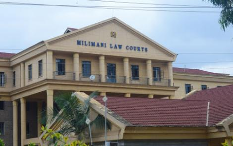 The Milimani Law Courts in Nairobi as pictured on November 18, 2019