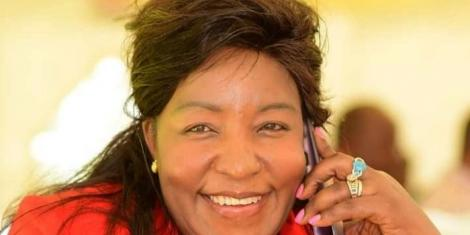 Fronted Nairobi gubernatorial leader Agnes Kagure