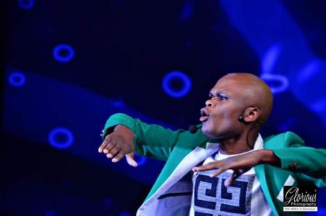 Othuol Othuol in his element during a Churchill Show back in 2018.