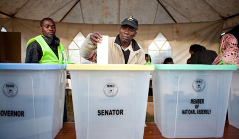 Election Day 2017 in Kenya