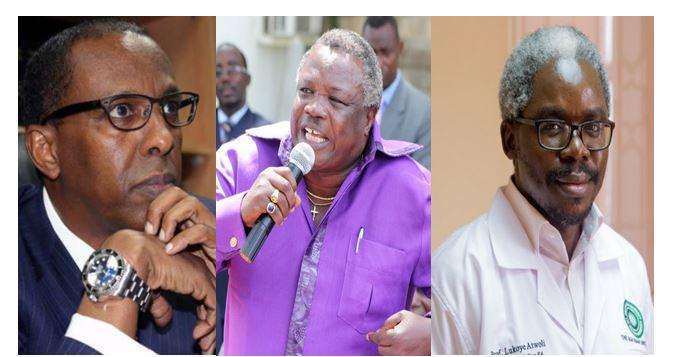 COTU boss ATWOLI son Prof Lukoye appointed Global Health board member Ahmednassir can hug a transformer!
