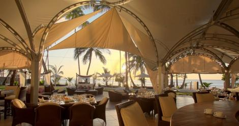 File image of the sails at Almanara Resort in Diani.