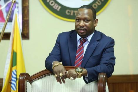 Former Nairobi Governor Mike Mbuvi Sonko.