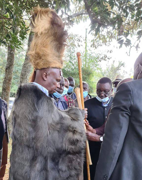 DP Ruto in panic as Talai elders crown Gedion Moi in a dawn ceremony